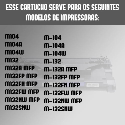 Toner Compatível HP Cf226x 226 226x M426 M402 M426Fdw M426Dw
