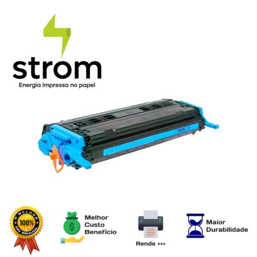 Toner Compatível HP Q6001a Q60001 6001 Ciano Dn2600 2600Dtn