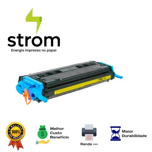 Toner Compatível HP Q6002a Q6002 6002 Amarelo 2605Dn 2600Dta