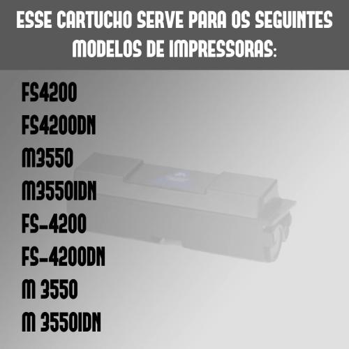 Toner Compatível Kyocera Tk3122 3122 Fs4200Dn Fs4200 4200Dn