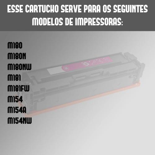 Toner Compatível HP 533a 533 Magenta 476dw 451dw 451nw 475dw
