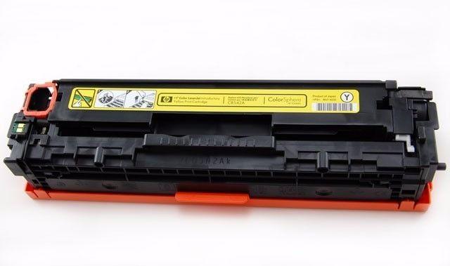 Toner HP CF212A/CB542 Amarelo  Cp1215 Cm1312 Cp1515