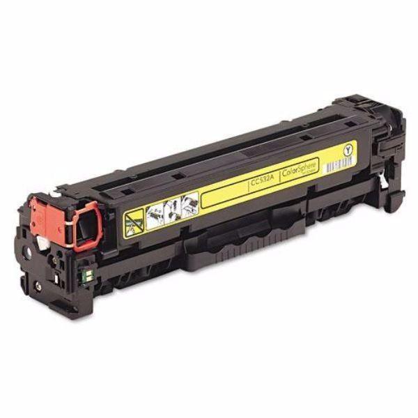 Toner HP CF212A/CB542 Yellow Compatível Cp1215 Cm1312 Cp1515