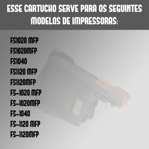Toner Kyocera Tk1112 1112 Compatível Fs1040 Fs1020 Fs1120