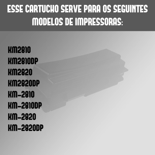 Toner Tk137 Tk137 Fs1100 Fs1100 Compatível