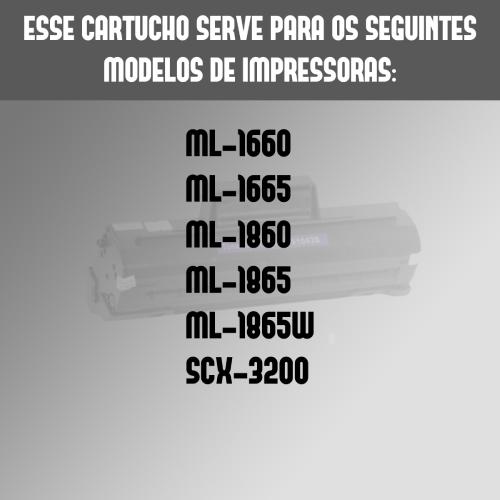 Toner Samsung Mlt D104S D104 104 D104S Scx3200 Compatível