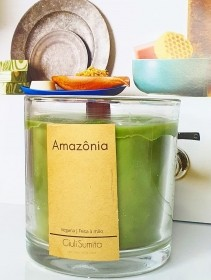 Amazônia - Vela perfumada vegana - 150g