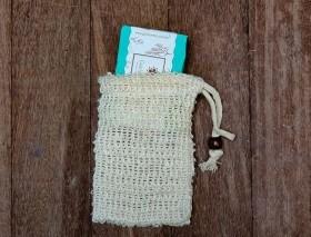 Bolsa para banho e porta sabonete