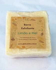 Limão & Mel - Barra esfoliante