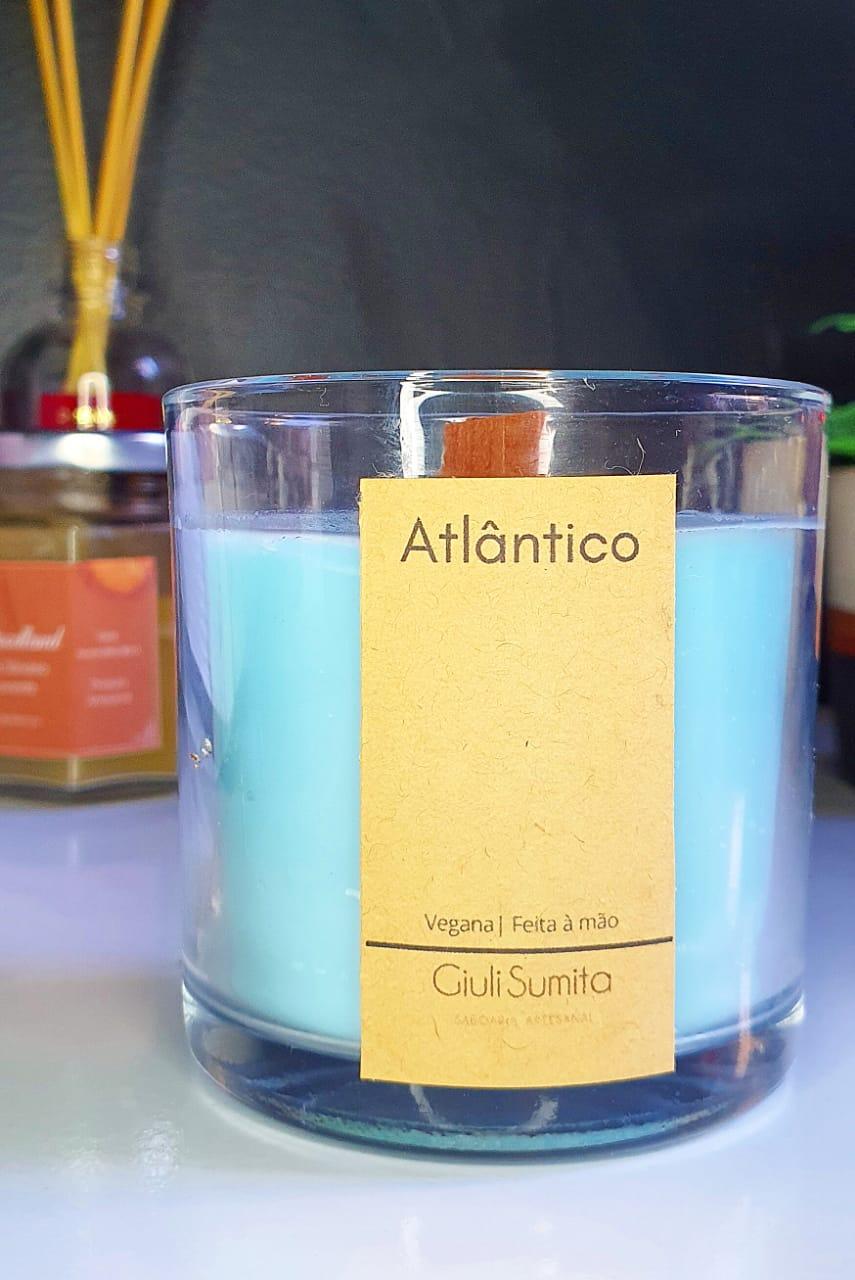Atlântico - Vela perfumada vegana - 150g