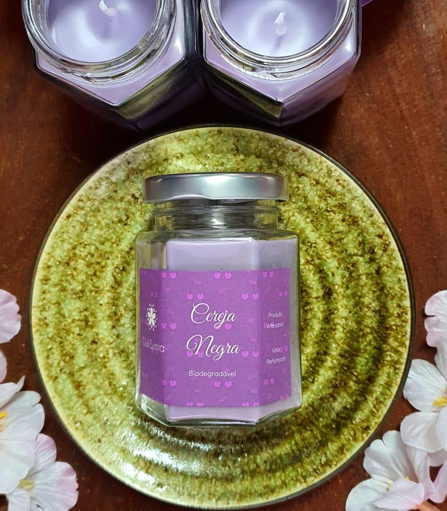 Cereja Negra - Vela perfumada - 80g