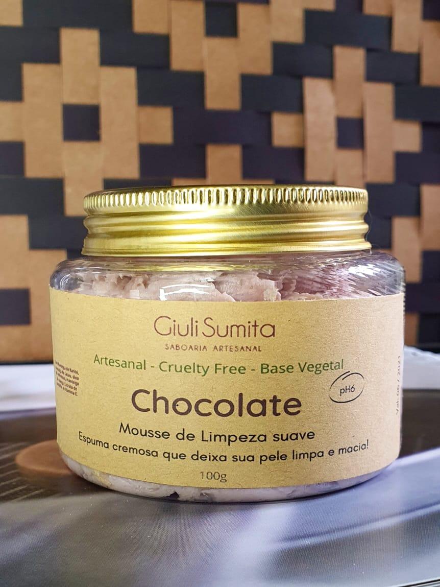 Chocolate - Mousse de limpeza suave