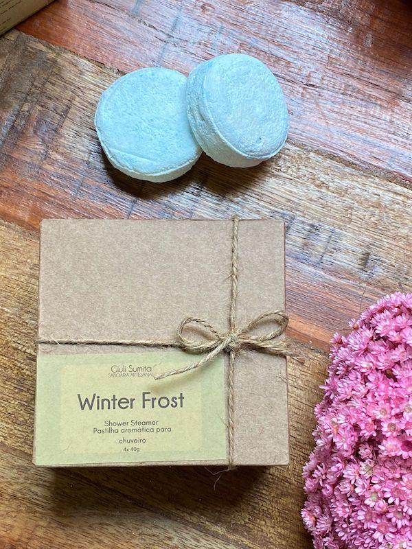 Winter frost - Pastilha Aromática para Chuveiro - Shower Steamer