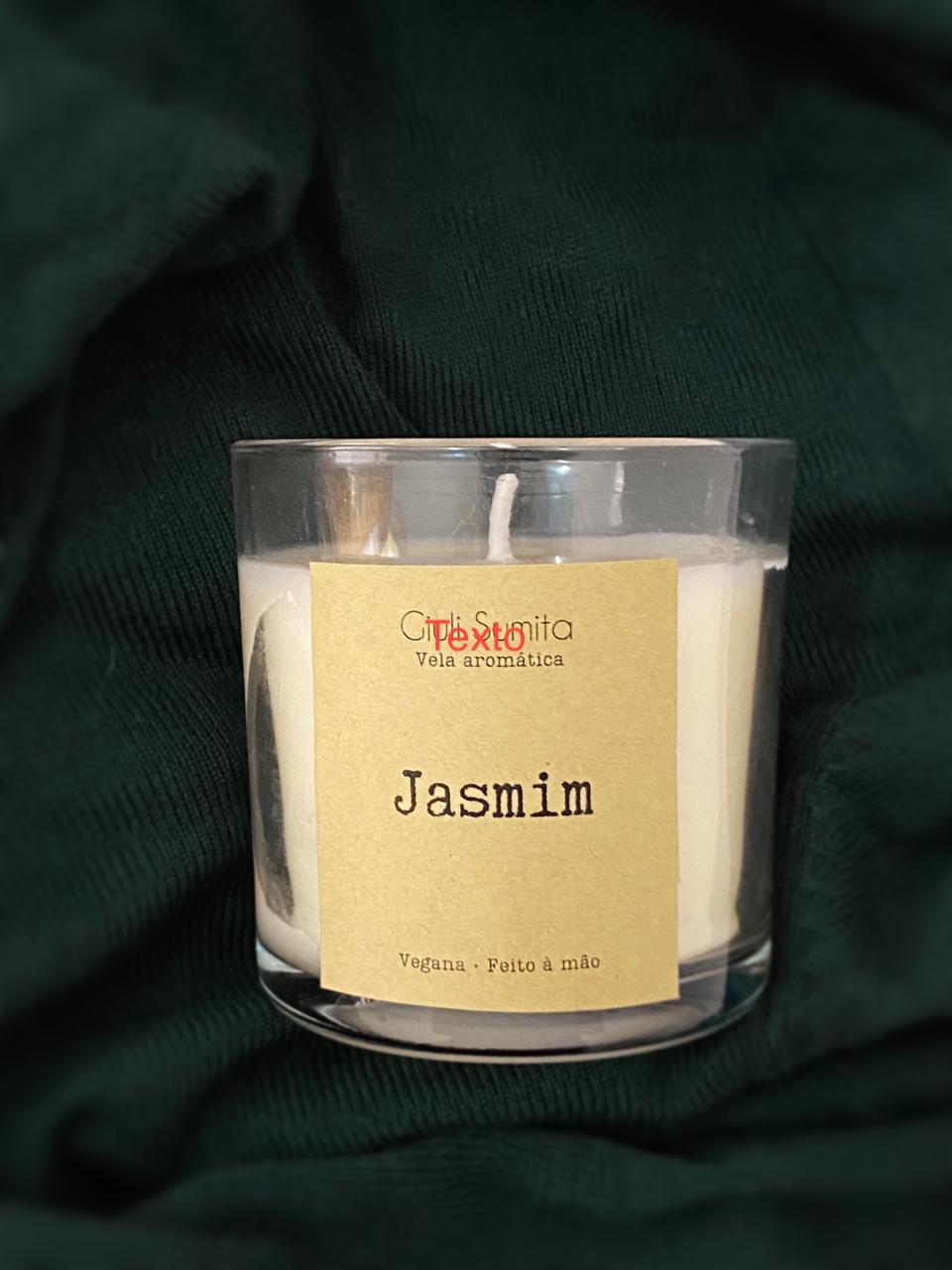 Jasmim Vela aromática vegana