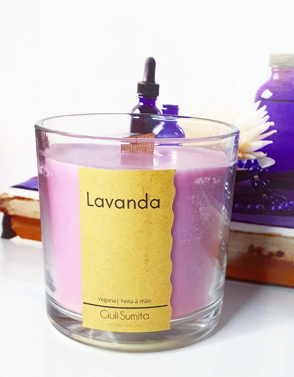 Lavanda - Vela perfumada vegana - 150g