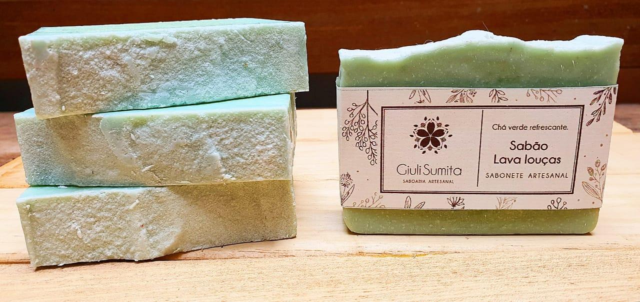 Sabão Lava Louças para peles delicadas