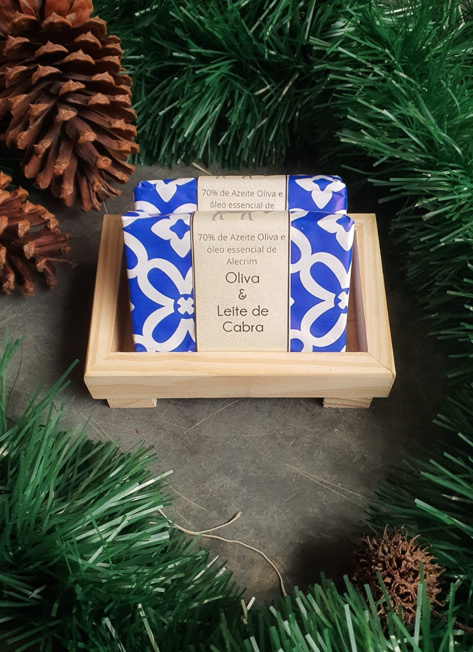 Oliva e leite de Cabra - Kit de presente