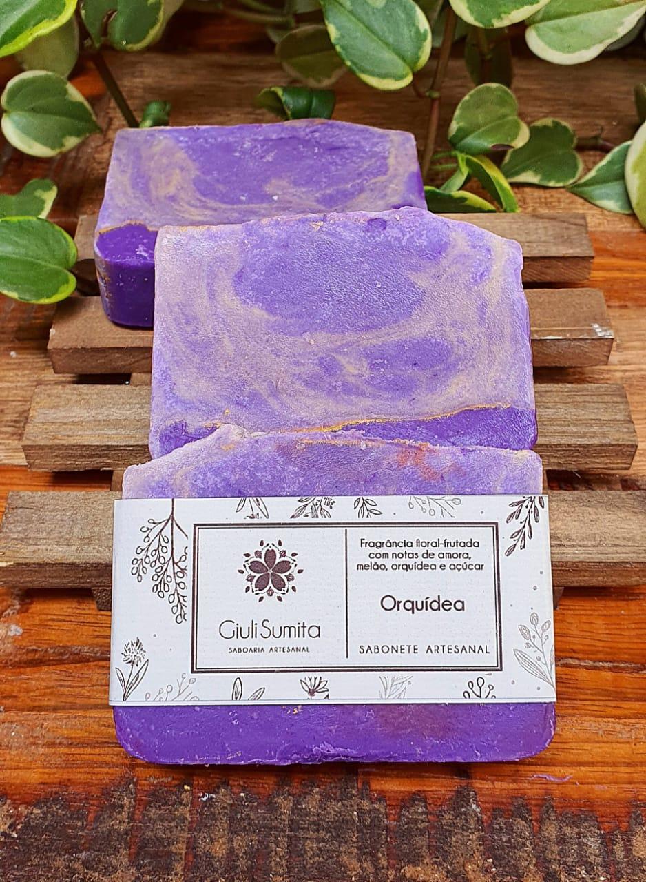 Orquídea - Sabonete
