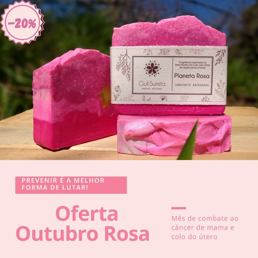 Planeta Rosa - Sabonete