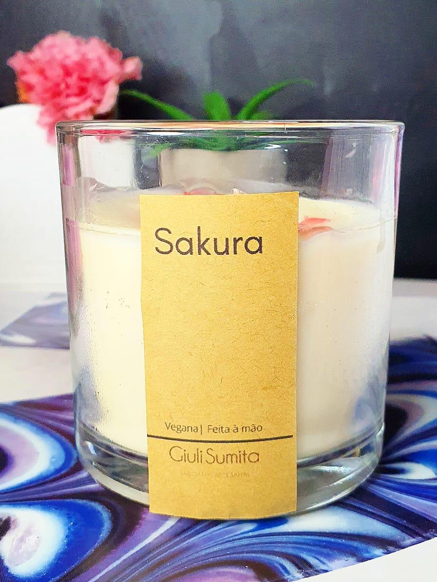 Sakura - Vela perfumada - 150g