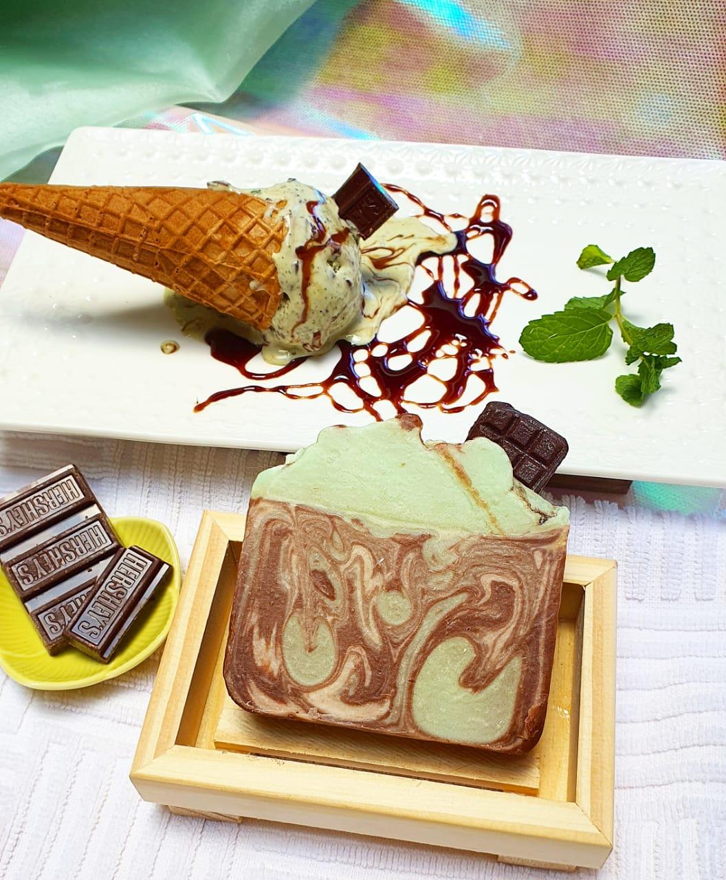 Sorvete Choco-menta - Sabonete
