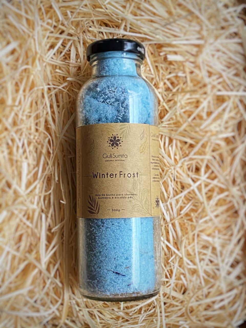 Winter Frost - Sal de banho para chuveiro -  300g