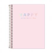 Caderno Colegial Happy 10 matérias - Tilibra