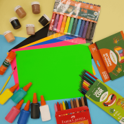 Caixa Artística para Crianças