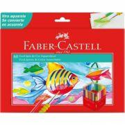 Ecolápis de Cor Aquarelável com 60 cores - Faber-Castell