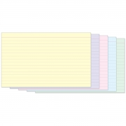 Fichas Coloridas Pautadas e Pontilhadas 5x8 - Tilibra