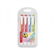 Marca texto Swing Cool Pastel com 4 cores novas - Stabilo