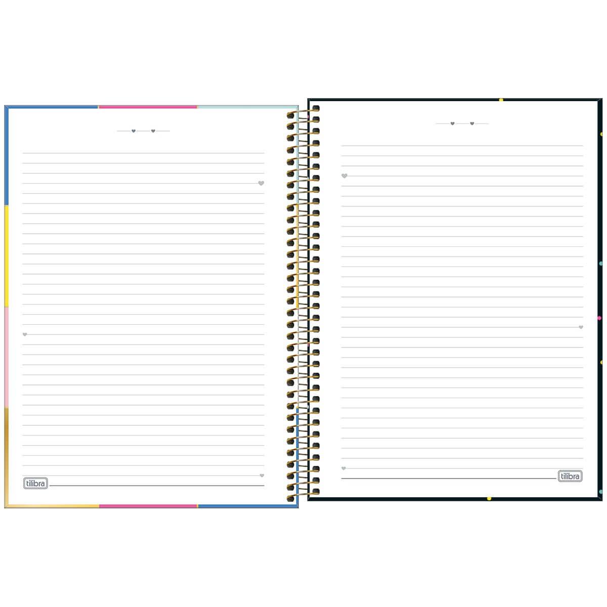 Caderno Be Nice Colegial 10 matérias - Tilibra