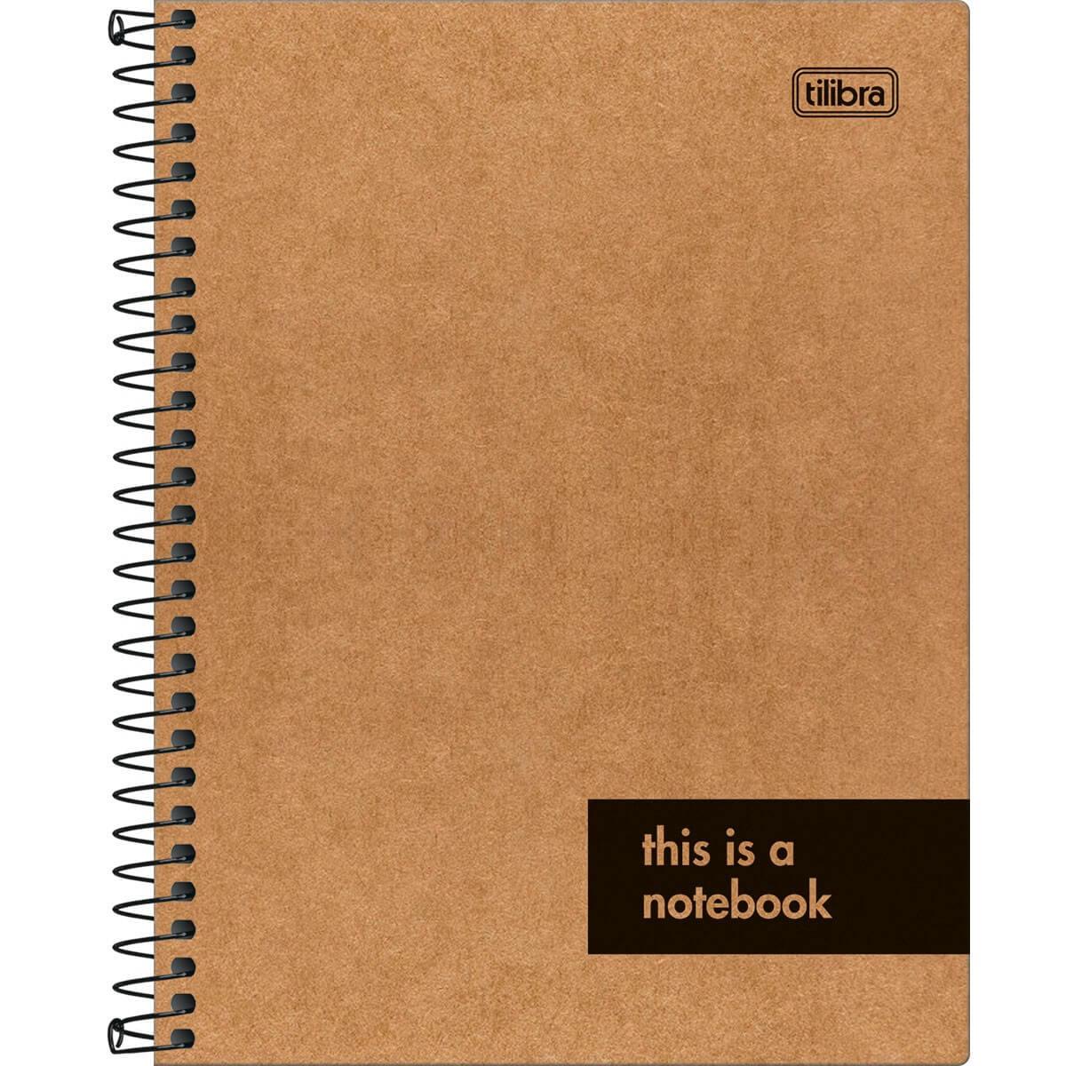 Caderno Colegial Kraftwork 1 matéria - Tilibra