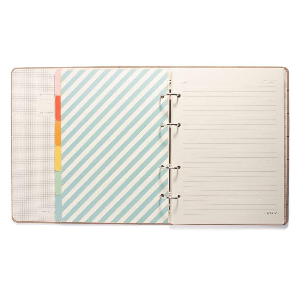 Caderno Criativo Argolado - Cícero