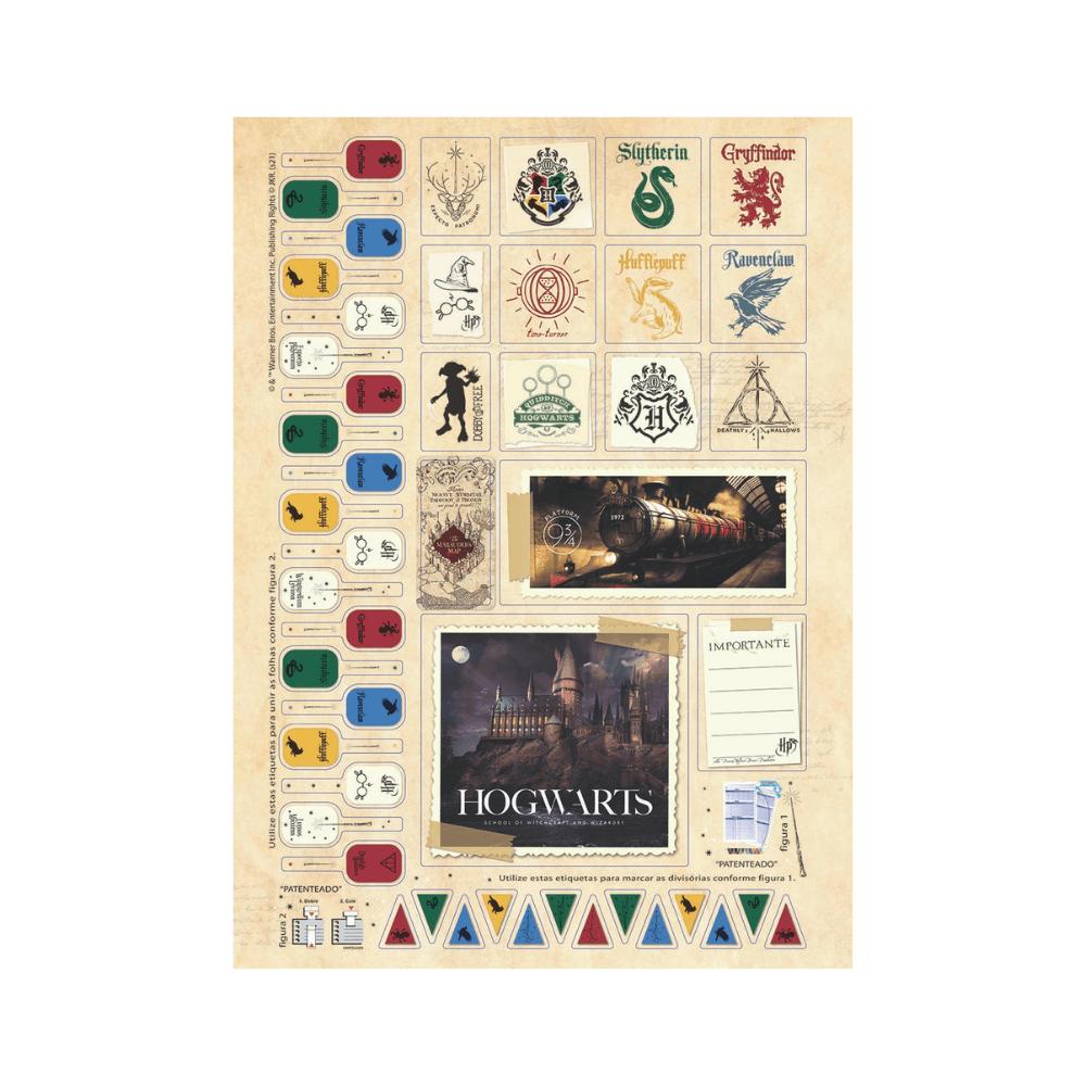 Caderno Universitário 10 matérias Harry Potter - Jandaia