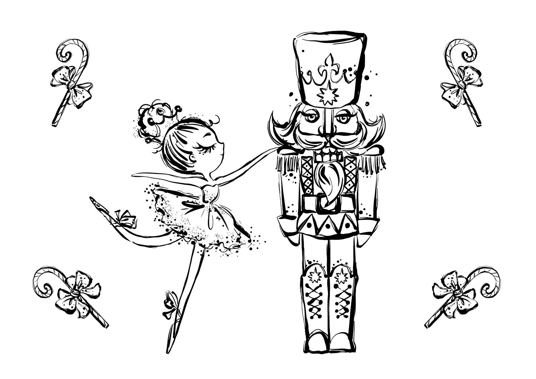 E-book para colorir Mouse King