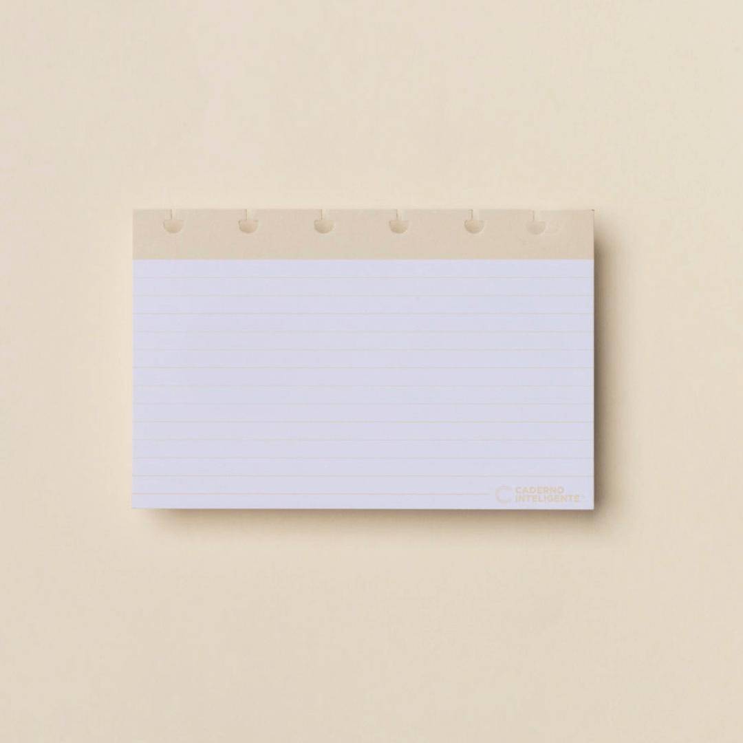 Fichas Pautadas Inteligentes 4x6 - Caderno Inteligente