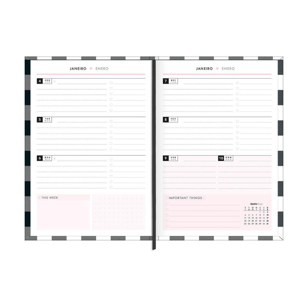 Planner 2021 West Village M5  - Tilibra