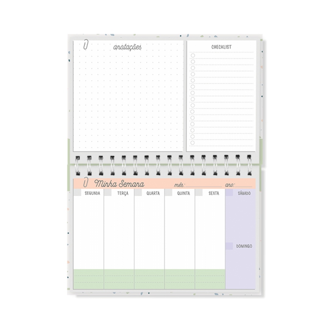 Planner Semanal - Cartões Gigantes