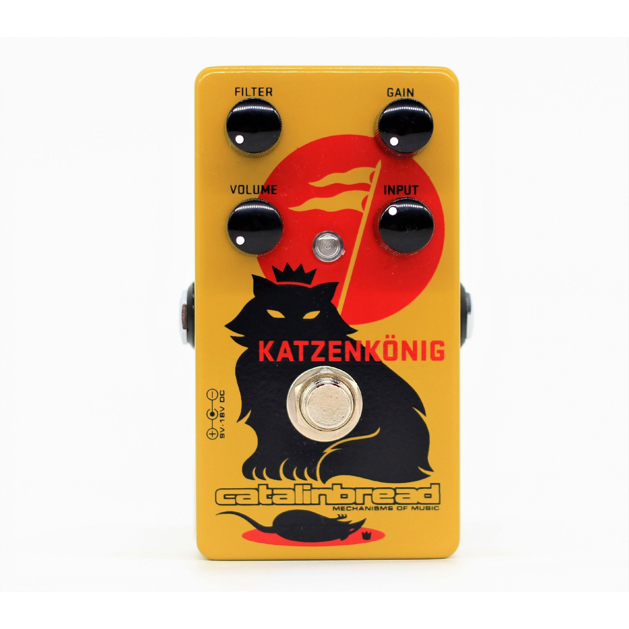 Catalinbread Katzenkonig Rat Bender