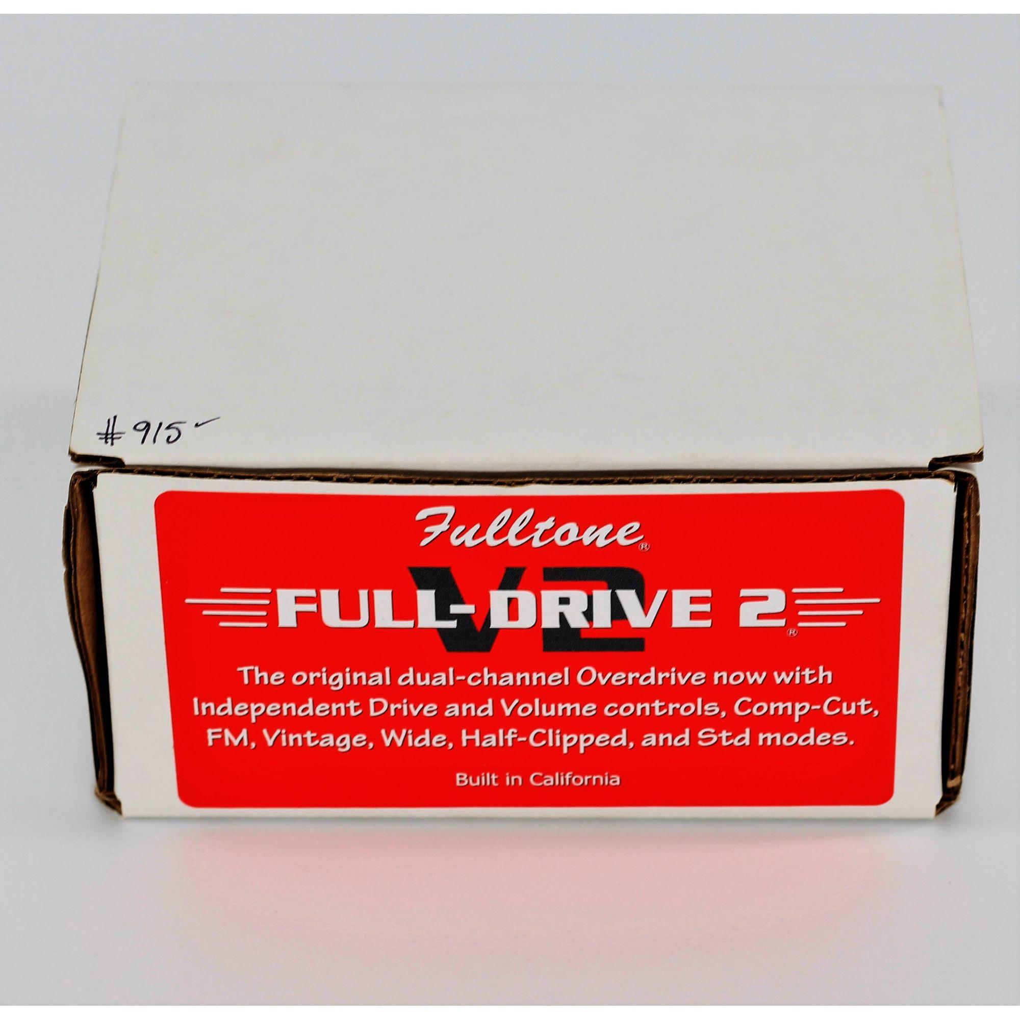 Fulltone Full-drive 2 V2 Seminovo
