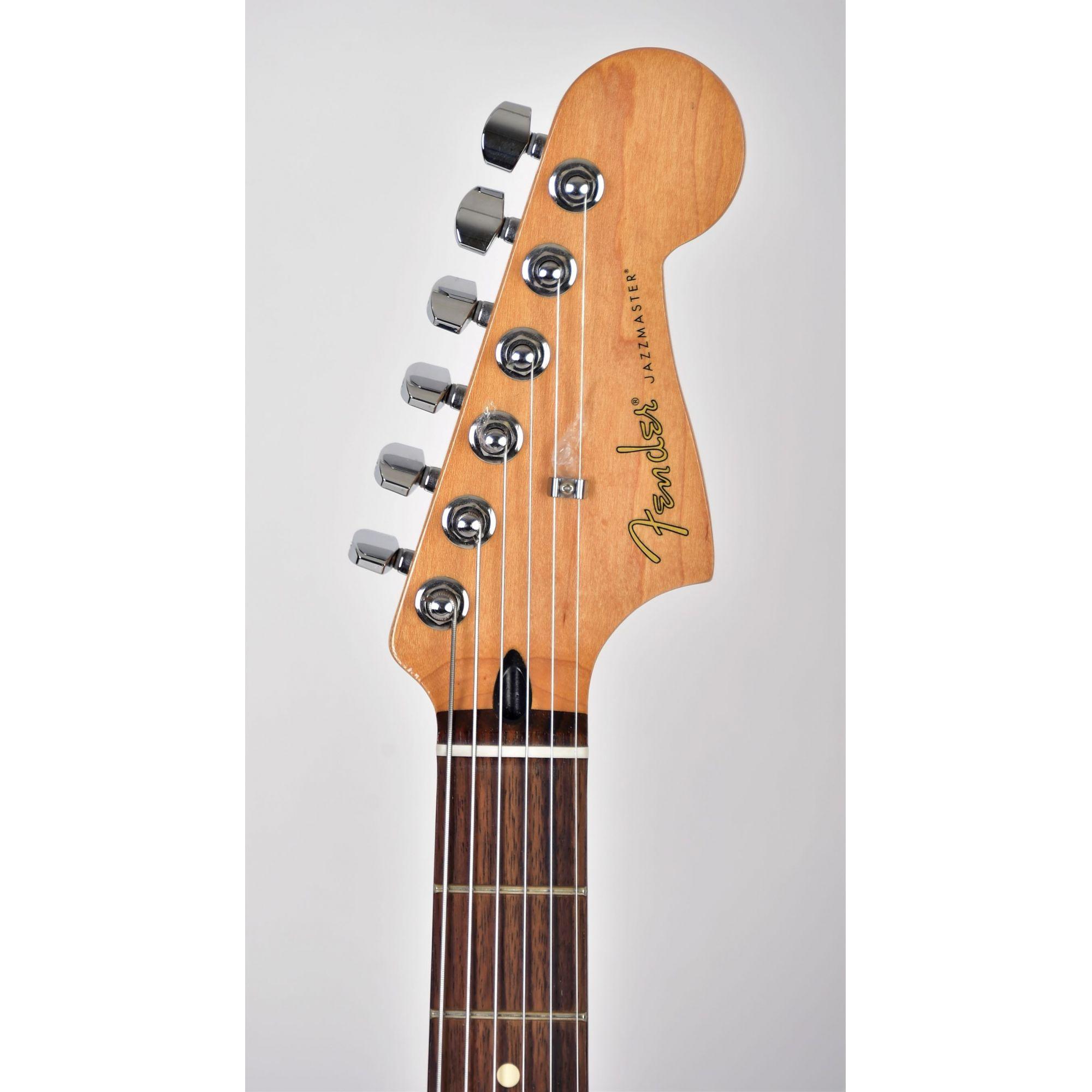 Guitarra Fender Jazzmaster Blacktop Edição Especial HH Stripe