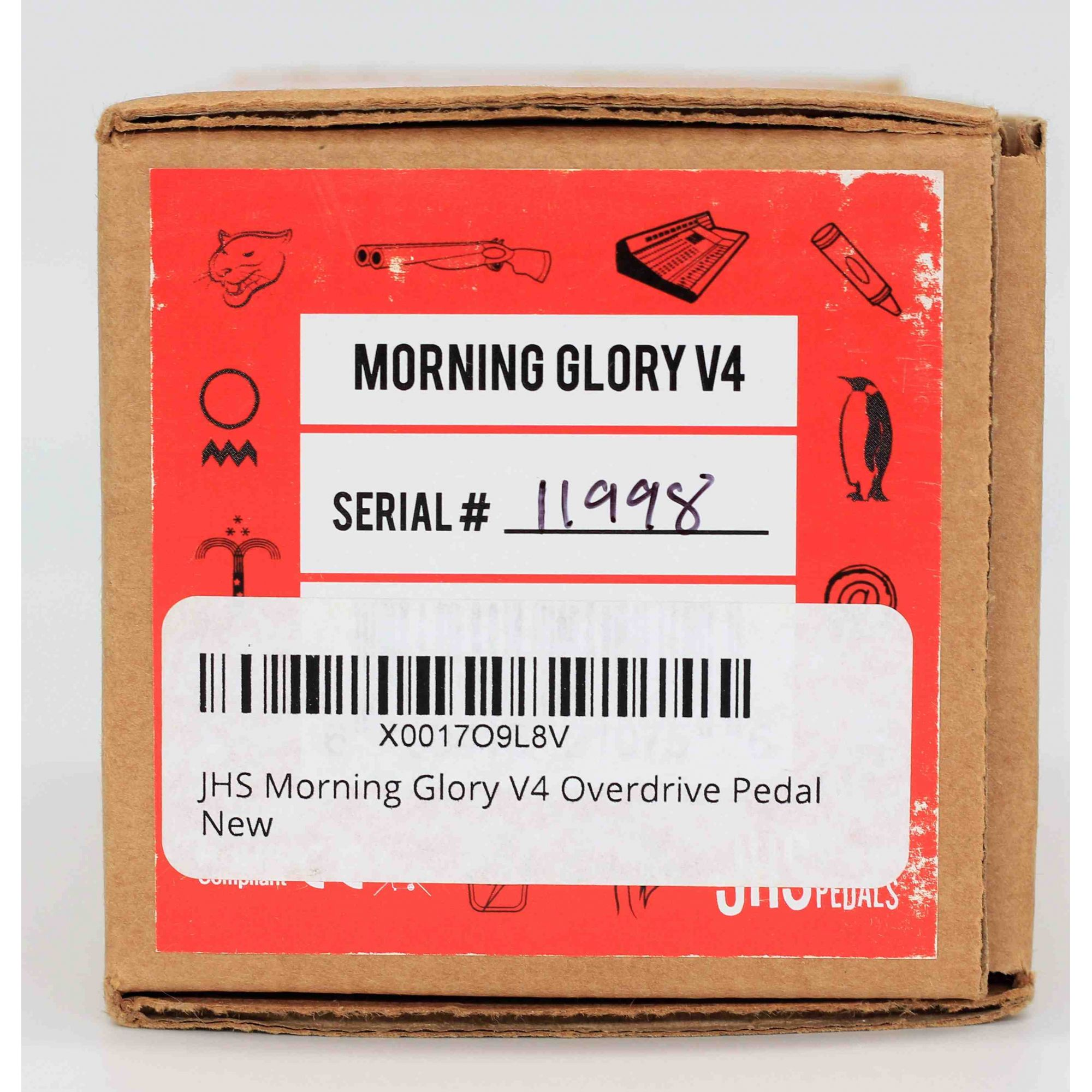 Pedal Jhs Morning Glory V4 Seminovo