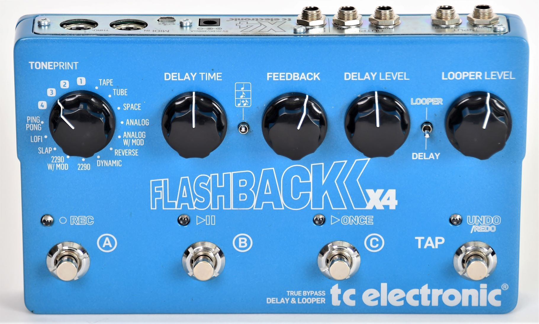 TC Electronic Flashback X4 Delay & Looper Seminovo