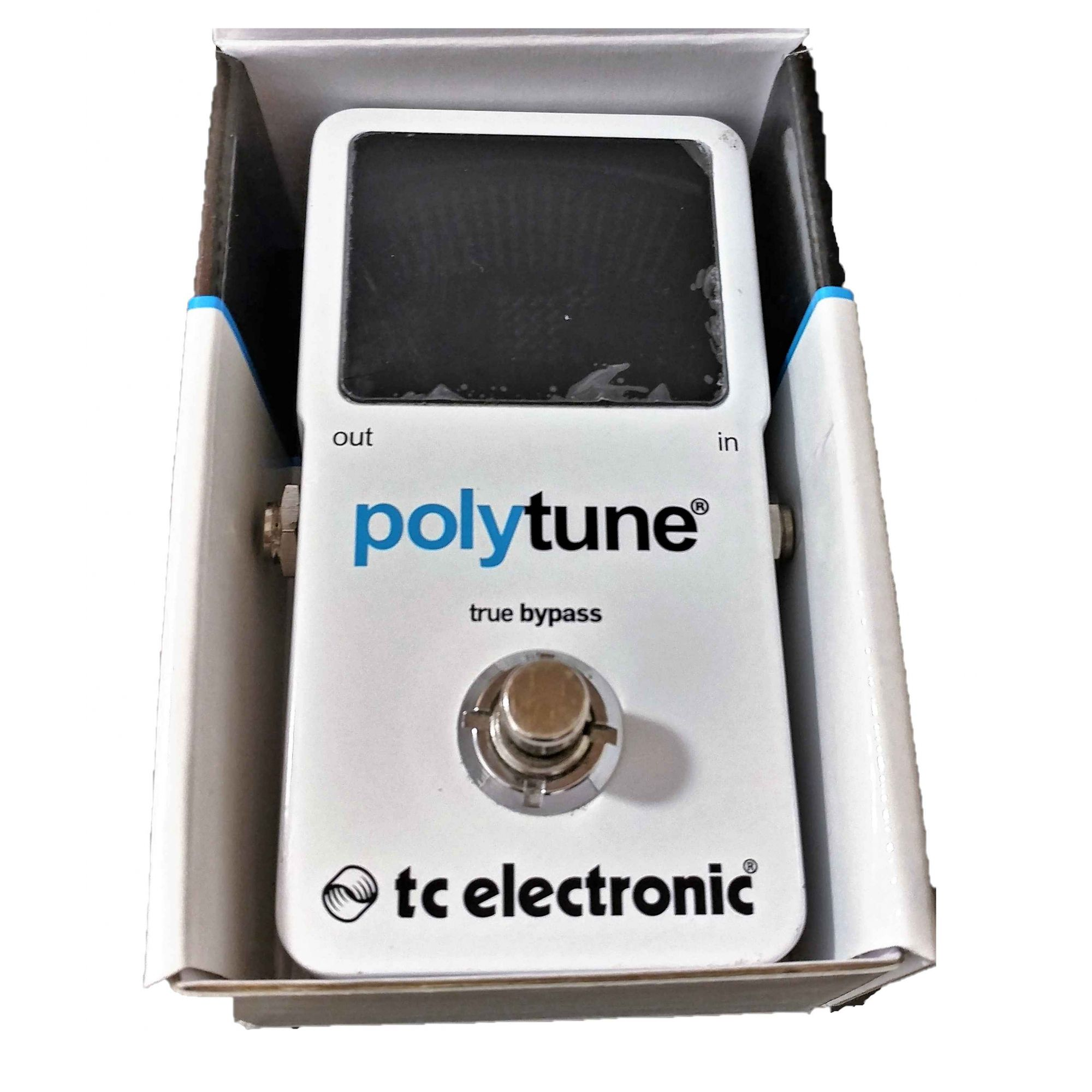 TC Electronic Polytune 2 Pedal Afinador - Usado