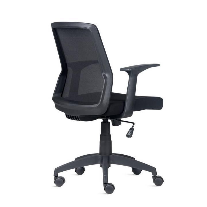 Cadeira de Escritório Giratória Turim Preto