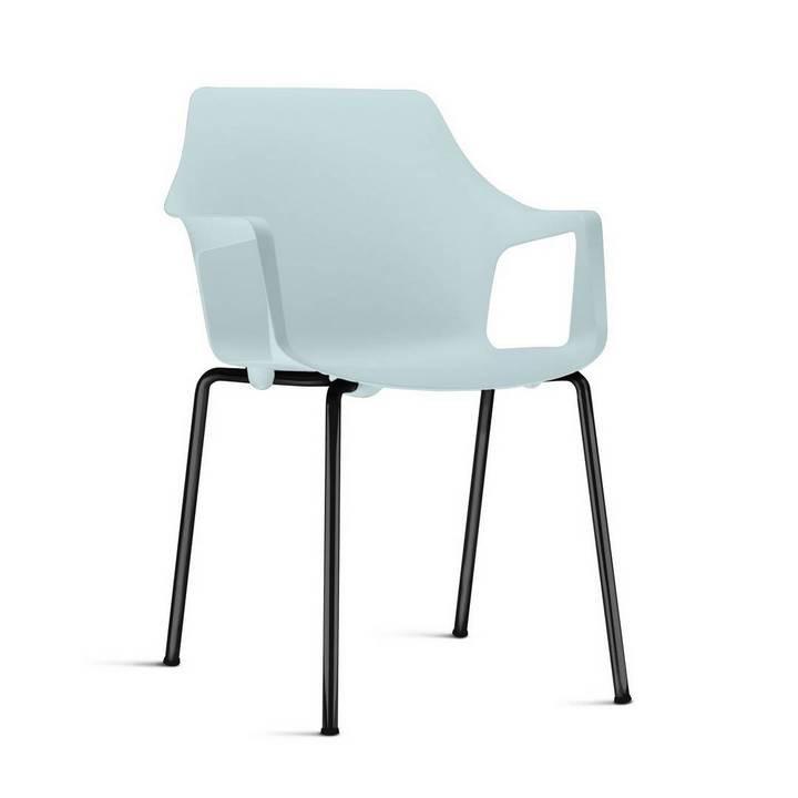 Conjunto com 2 Cadeiras Novara com braços