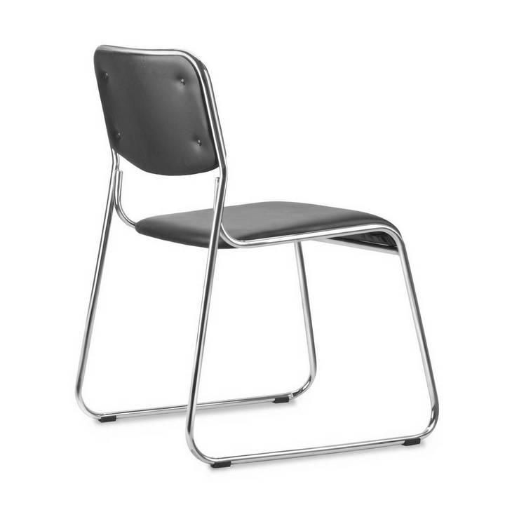Conjunto com 4 Cadeiras Decorativas Milano Preto