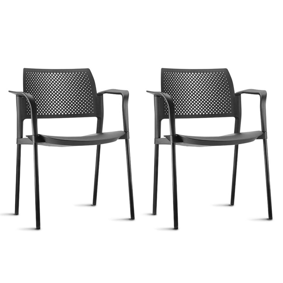 Conjunto de 2 Cadeiras para Cozinha Frisokar Parma
