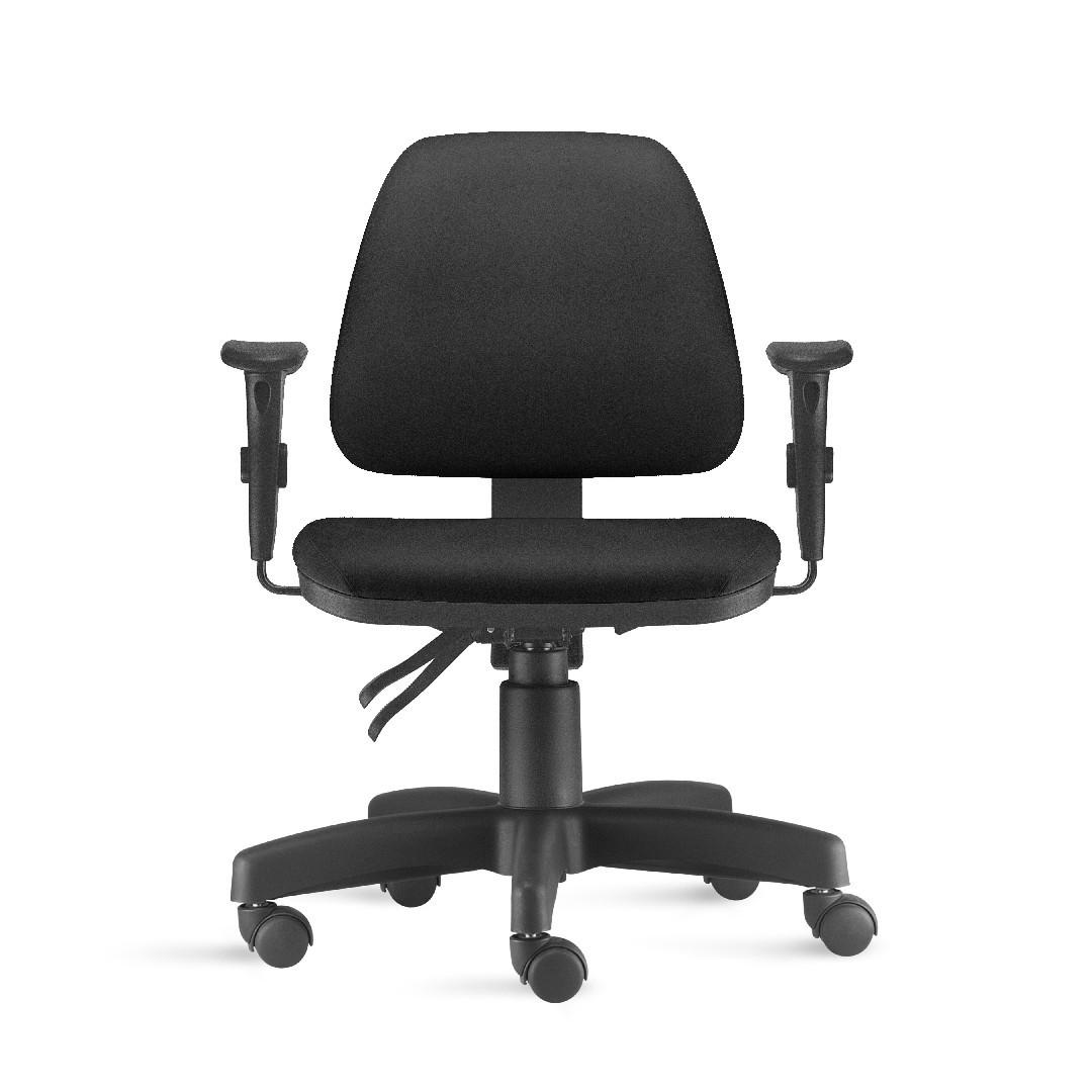 Cadeira de Escritório Giratória Salerno com Back System